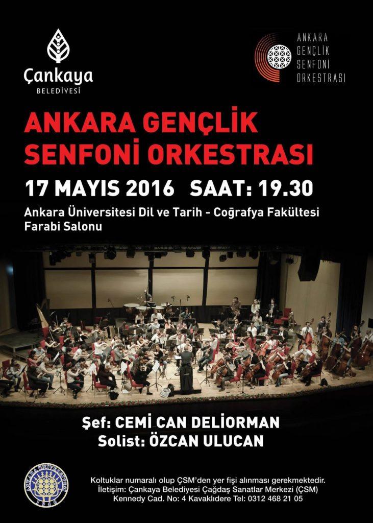 Ankara Gençlik Senfoni Orkestrası - AGSO