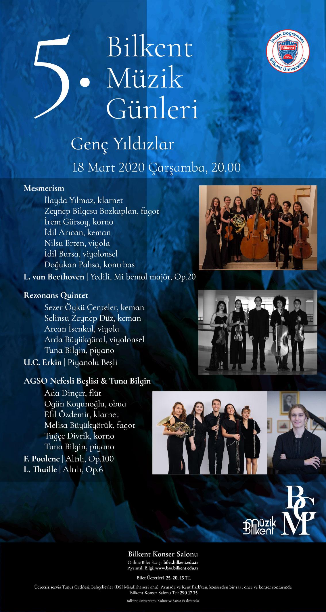 AGSO Nefesli Beşlisi 18 Mart 2020 Konseri