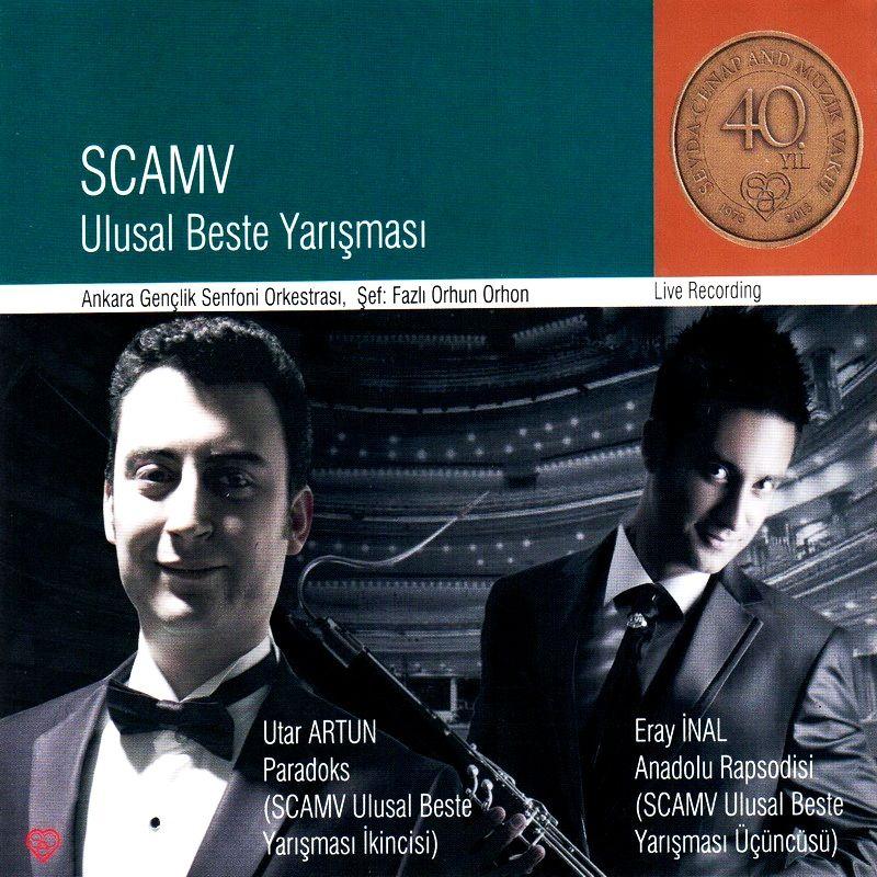 Ankara Gençlik Senfoni Orkestrası SCAMV CD Kaydı