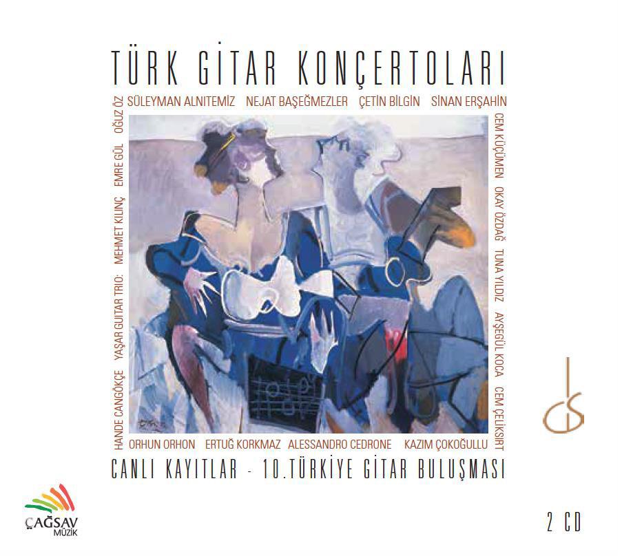 Ankara Gençlik Senfoni Orkestrası Türk Gitar Konçertoları CD Kaydı